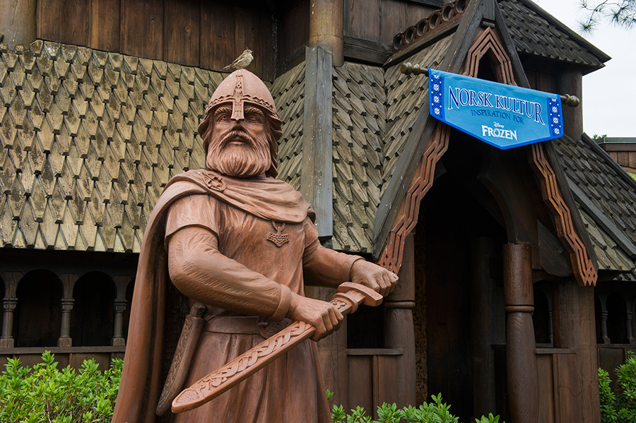 'Frozen'-Inspired 'Norsk Kultur' Gallery Opens at Epcot at Walt Disney World Resort
