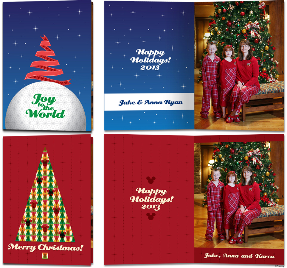 Create memories with exclusive disney christmas cards disney parks exclusive disney fine art photography video holiday cards kristyandbryce Images