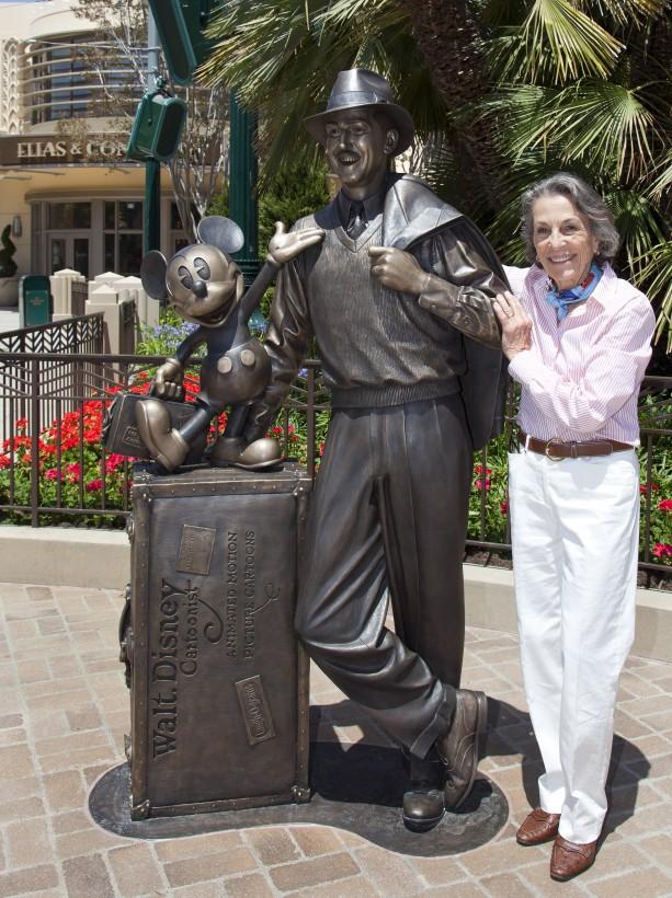 Diane Disney Miller Story Teller Statue