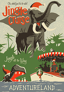 First Look at the Jingle Jungle Cruise