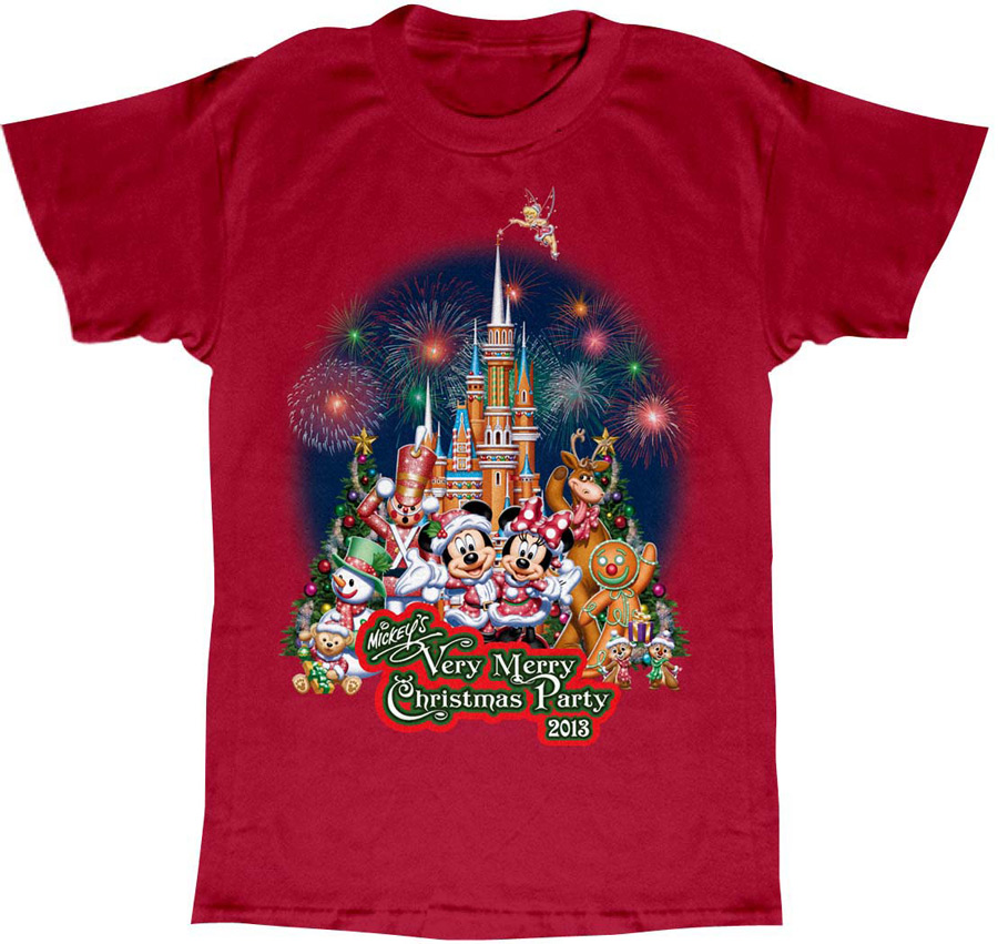 Mickey's Very Merry Christmas Party Merchandise at Magic Kingdom ...