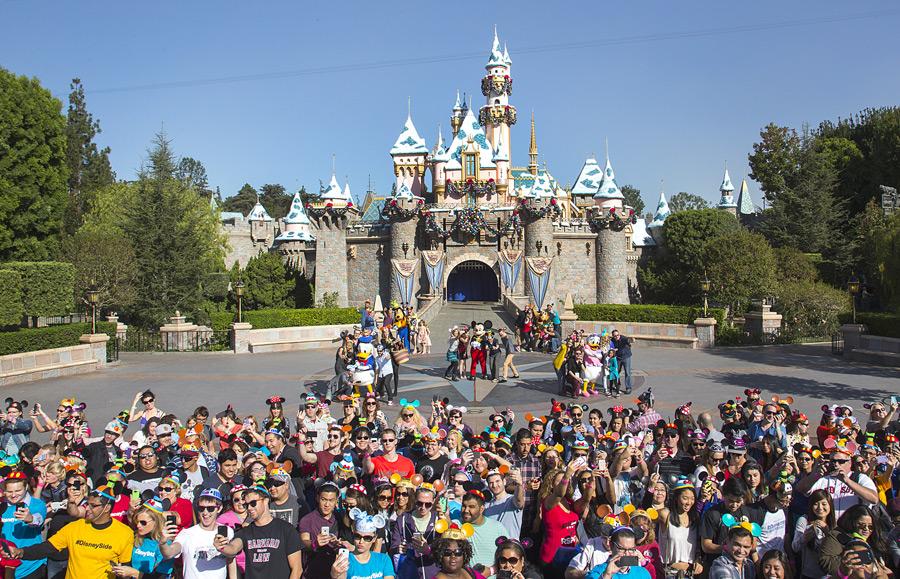 Social Media All-Stars #DisneySide World Premiere at Disneyland Park