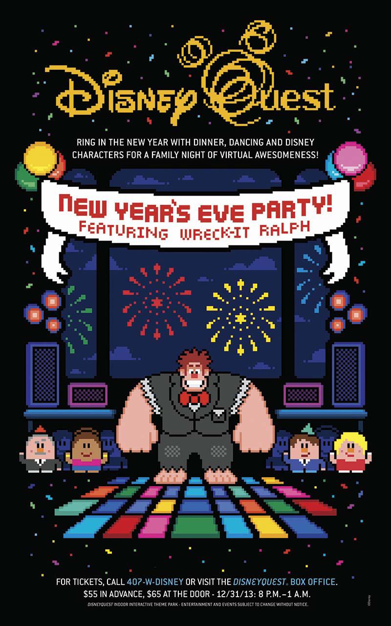 Disneyland New Years Eve 2014