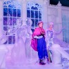 Disney's 'Frozen'-Inspired Ice Sculptures Wow Crowds at Belgium Festival