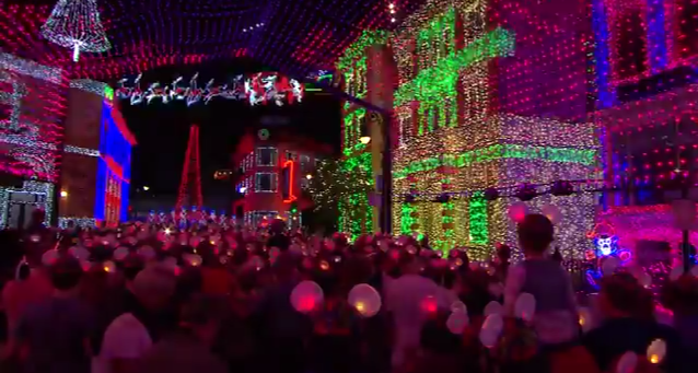 Glow With The Show  Ear Hats Brighten Osborne Family Spectacle of Dancing Lights   YouTube