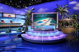 Disney Cruise Line on the Set of 'Wheel of Fortune'