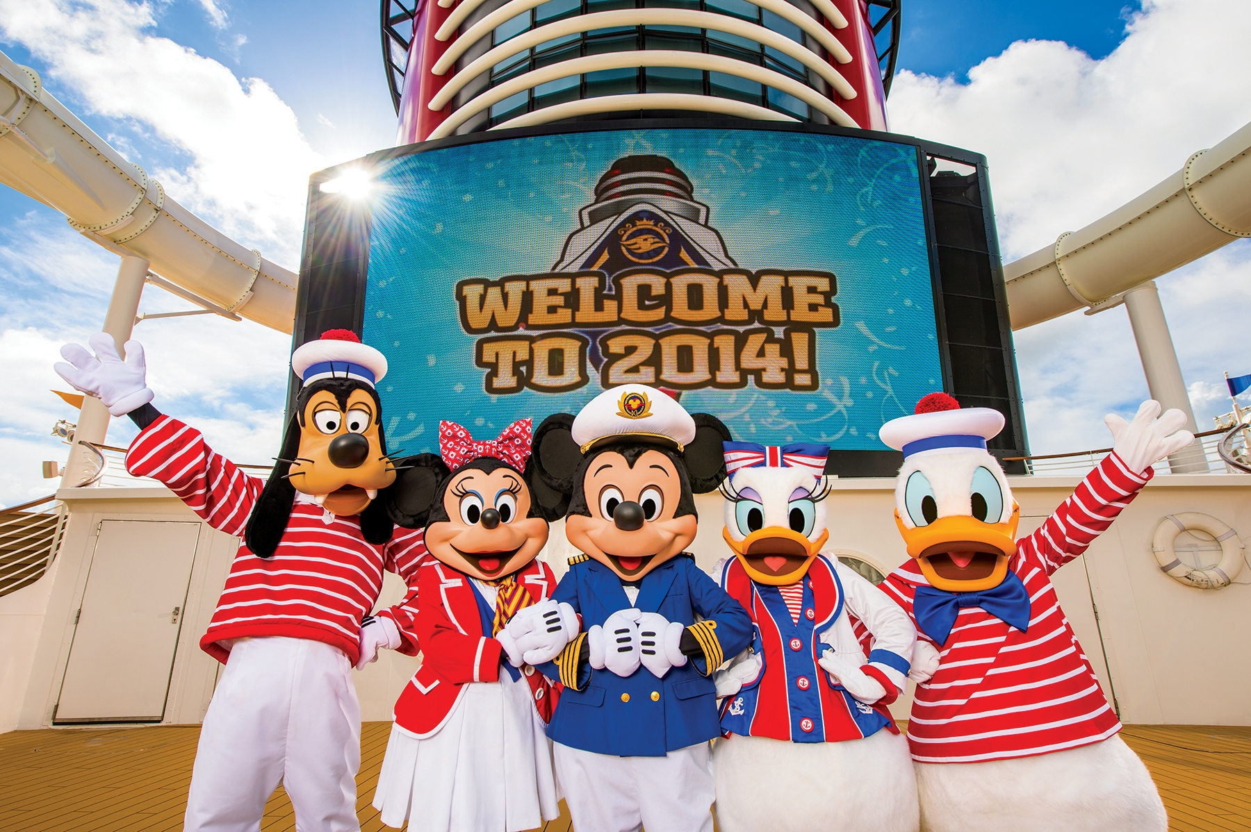 Happy New Year From Disney Cruise Line Disney Parks Blog