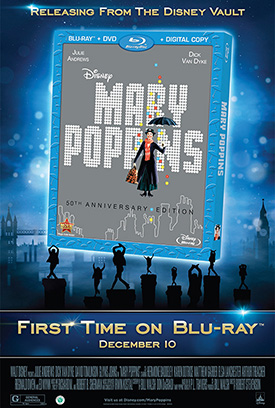 Disney's 'Mary Poppins' 50th Anniversary Edition