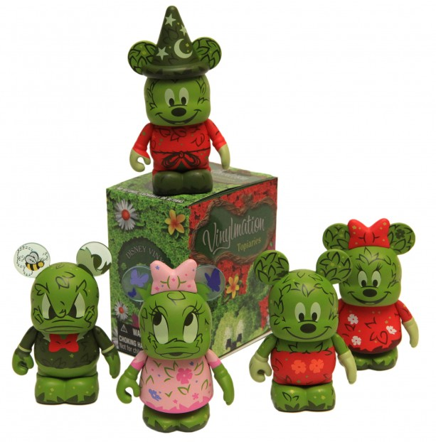New Merchandise to Bloom at the 2014 Epcot International Flower & Garden Festival, Featuring Vinylmation