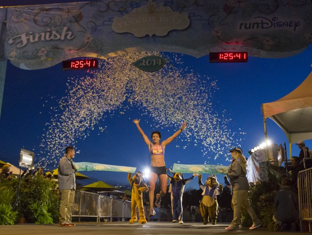 Southern California Runner Melissa Hernandez Earns Her Tinker Bell Wings at the Disneyland Resort