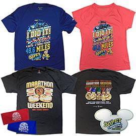 Inaugural Dopey Challenge Merchandise