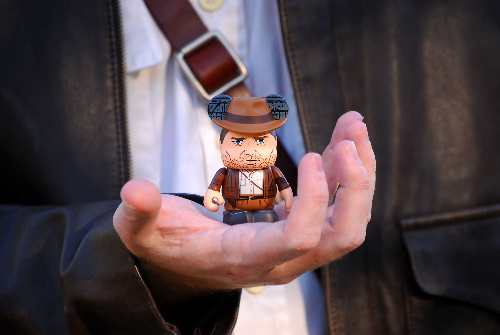 """Raiders of the Lost Ark"" Vinylmation - Indiana Jones Hand"