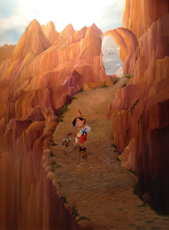 Meet Artist Katie Kelly at Off the Page in Disney California Adventure Park from 10 a.m. - 4 p.m. on Feb. 15 - 16