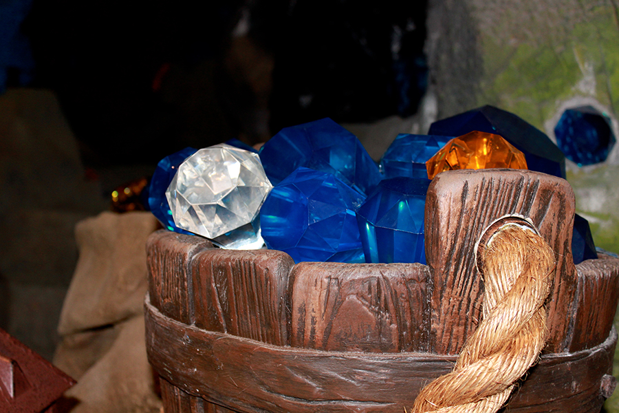 All In The Details: Imagineers Add Film-Inspired Details To Seven Dwarfs Mine Train