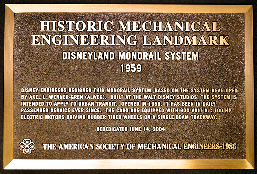 Monorail-Plaque