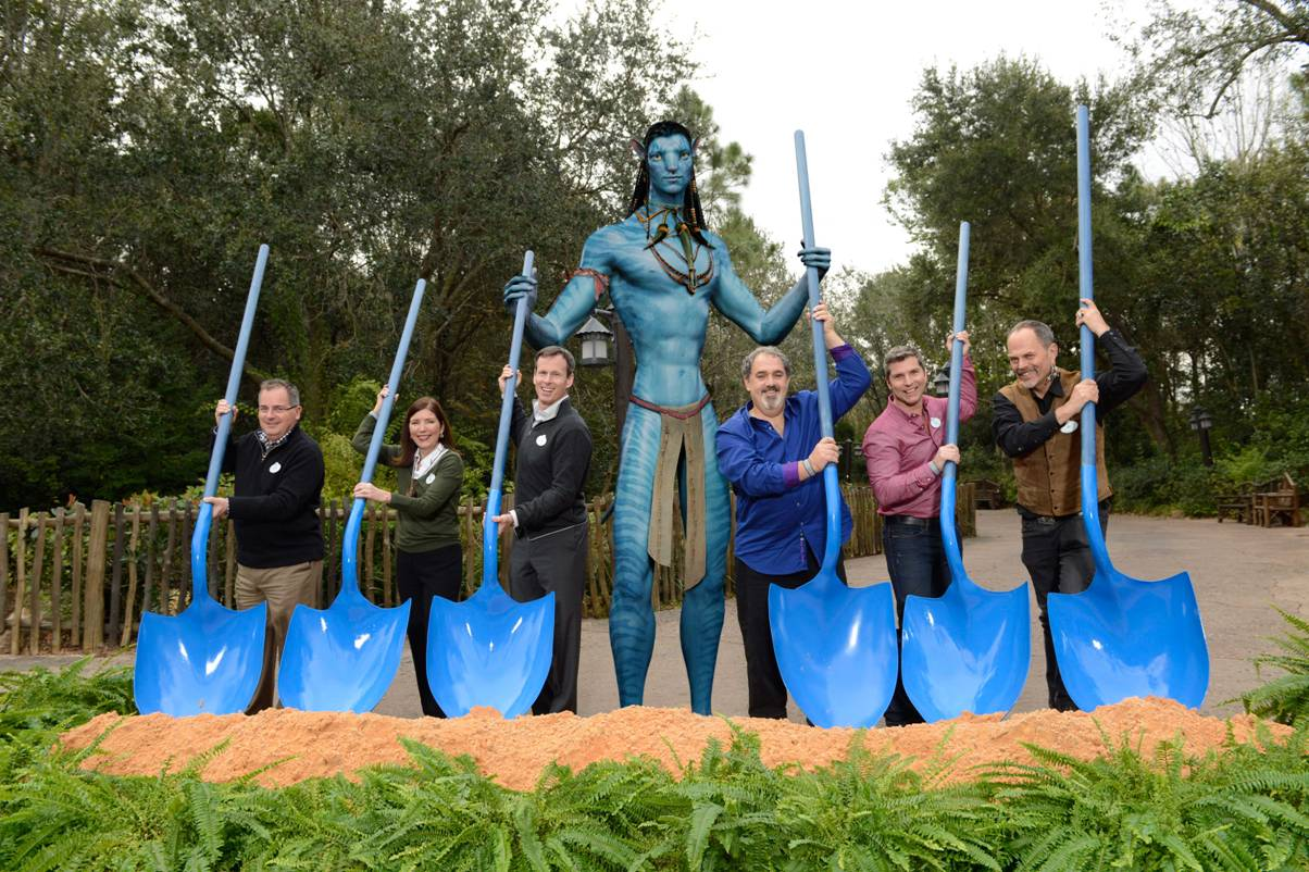 Construction Begins For AVATAR Inspired Land At Disneys Animal