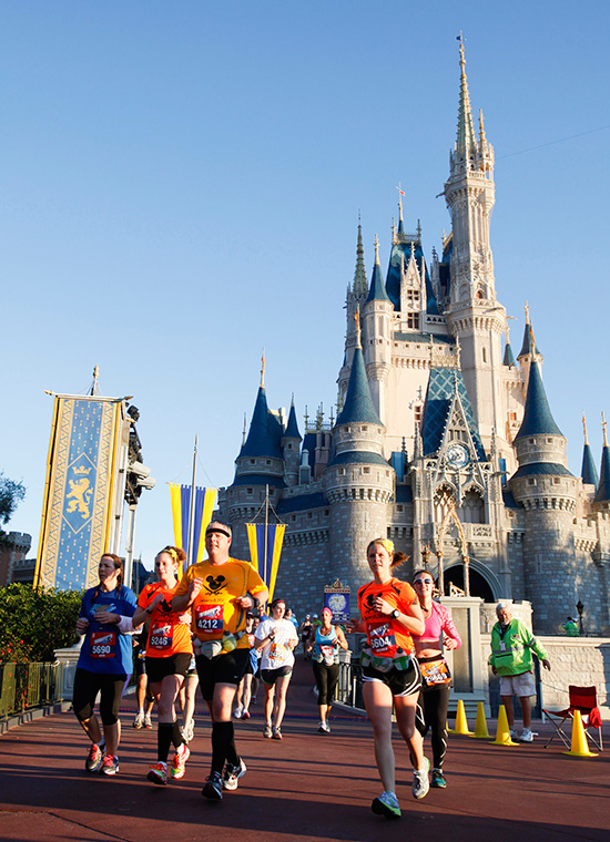 Runners at Walt Disney World Resort