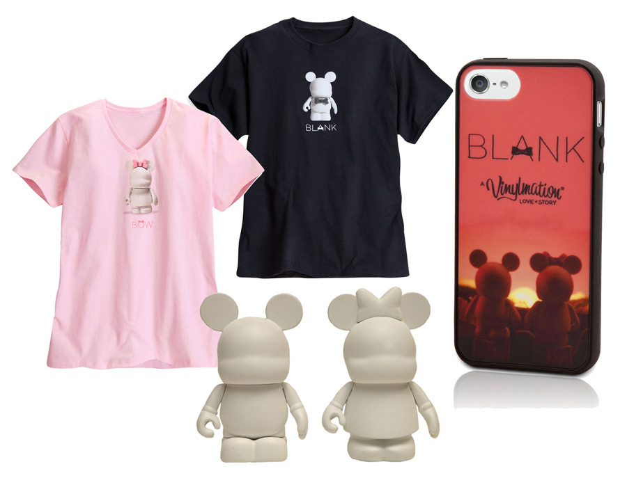 See Blank A Vinylmation Love Story At Premiere Theater