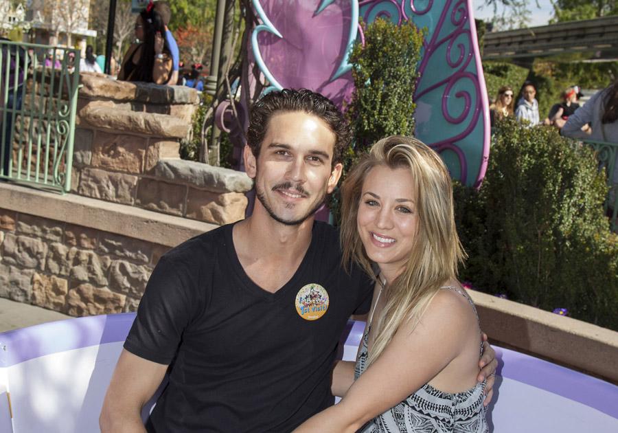 Newlyweds Kaley Cuoco and Ryan Sweeting Spend 'Mini-Honeymoon' at the Disneyland Resort
