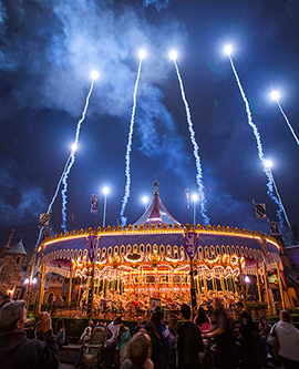 King Arthur Carrousel in Fantasyland at Disneyland Park