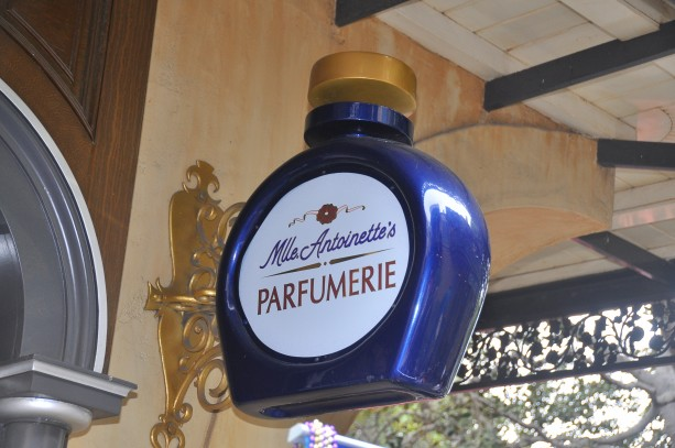 Mlle. Antoinette's Parfumerie in New Orleans Square at Disneyland Park