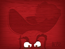 Disney Villain Wallpaper Featuring Captain Hook from 'Peter Pan'