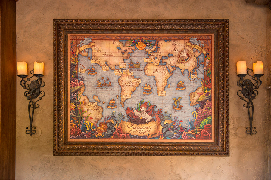 All in the details exploring a cartographers map in prince erics lead map gumiabroncs Images