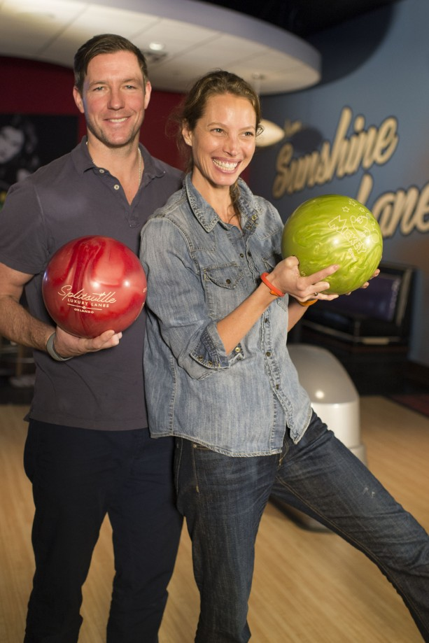 Even Stars 'Strike' It Big, With Family Time at Splitsville Luxury Lanes at Downtown Disney