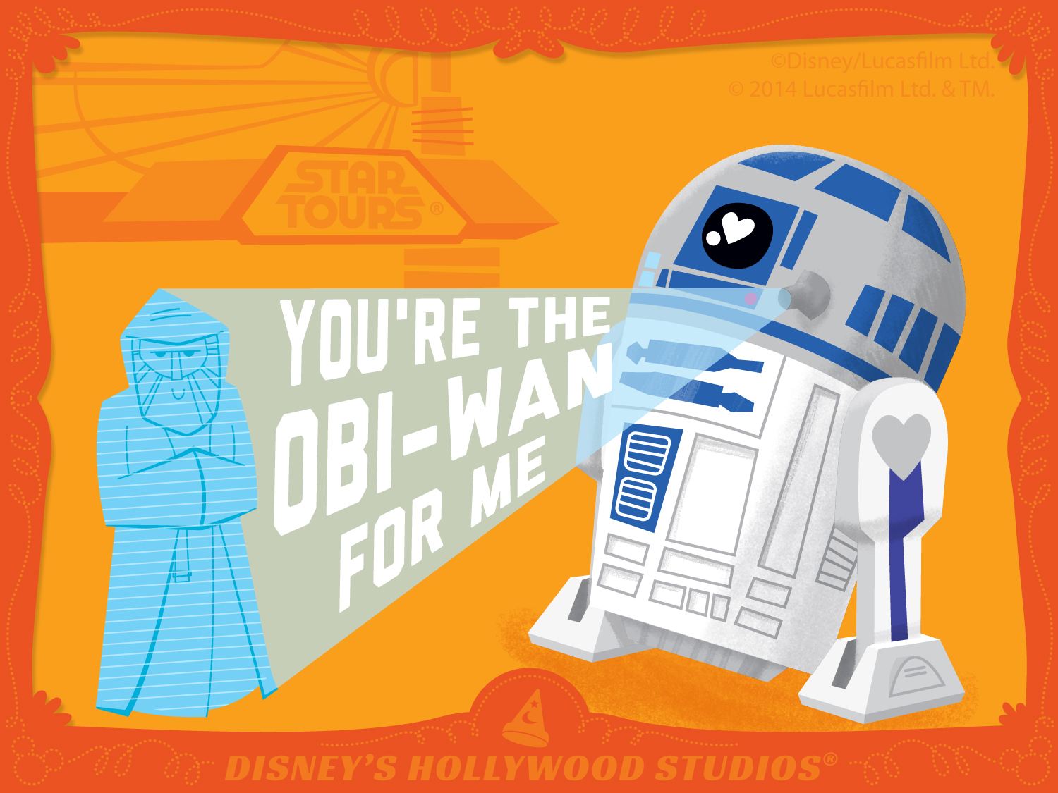 Fesselnd StarTours. Happy Valentineu0027s Day From The Disney ...