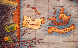 A Cartographer's Map in Prince Eric's Village, New Fantasyland