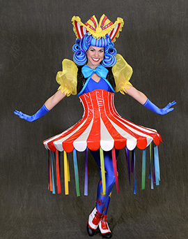 'Cha Cha Girl' from Storybook Circus Unit in 'Disney's Festival of Fantasy Parade'