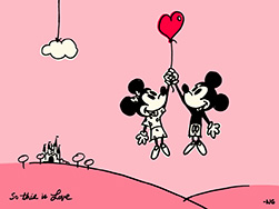 Disney Parks Blog 'So This Is Love' Desktop Wallpaper