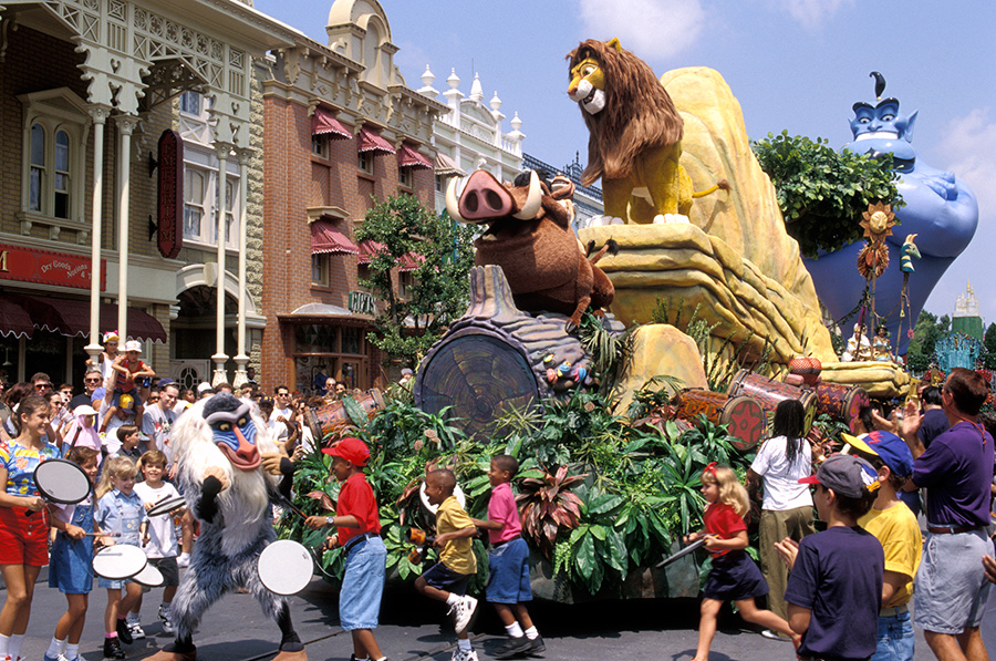 The 'Remember the Magic' Parade at Magic Kingdom Park
