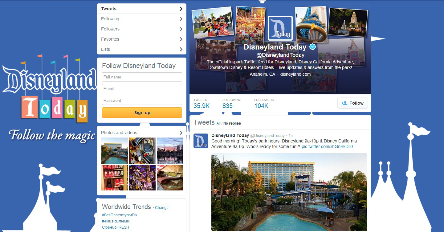 Popular In-Park Social Media Program Disneyland Today Expands to Cover Entire Disneyland Resort