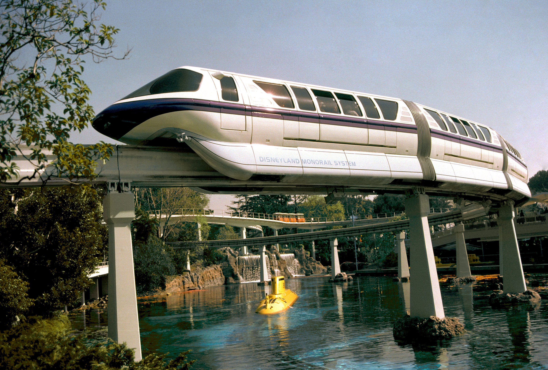 Disneyland Monorail Submarine Voyage