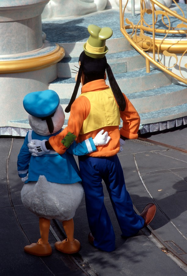 Caption This: Donald & Goofy, Best Friends at Magic Kingdom Park