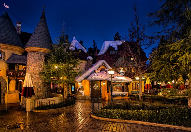 The Frozen Royal Reception Cottage in Fantasyland at Disneyland Park