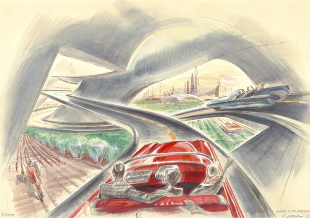 Artwork by Disney Legend John Hench