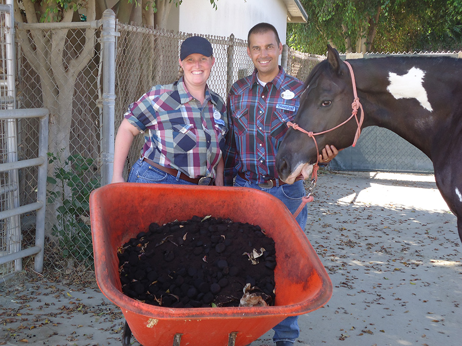 Disneyland Resort Circle D Ranch Cast Members Commit to Composting