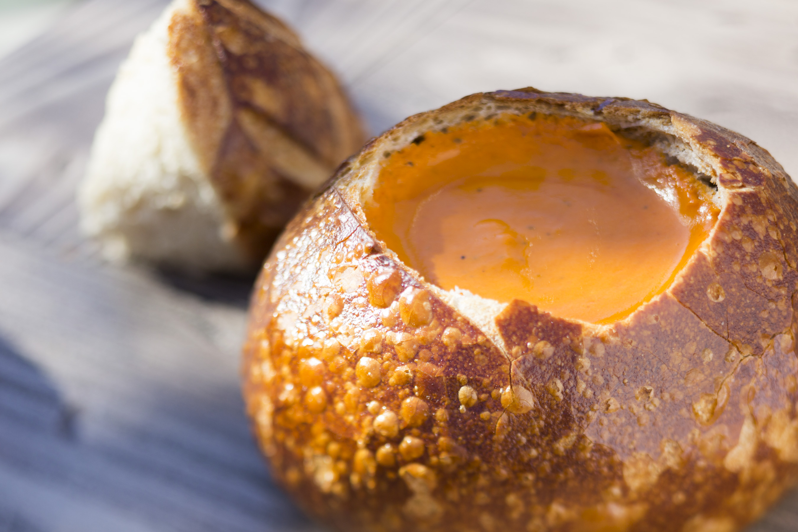 Soup Bread Bowl