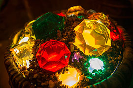 All in the Details: Glittering Gems Light Up Seven Dwarfs Mine Train Queue