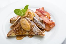 Special 'World of Color' Breakfast for Rock Your Disney Side 24-Hour Event: Bananas Foster at Wine Country Trattoria