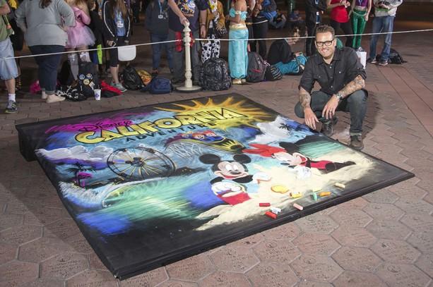 Disney 24 Sidewalk