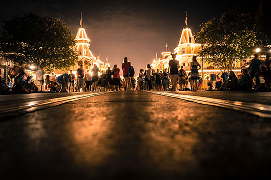 It's 3 a.m. on Main Street, U.S.A. at Walt Disney World Resort