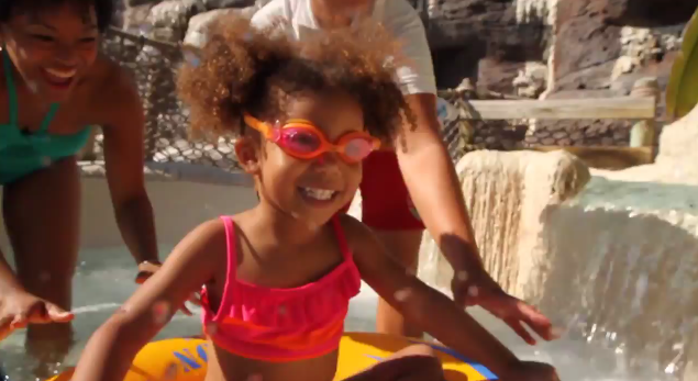 #DisneyKids: First Water Slide at Walt Disney World Resort