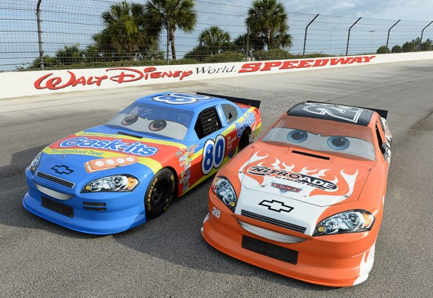 First Look: New Disney•Pixar Custom Character Cars at Walt Disney World Speedway