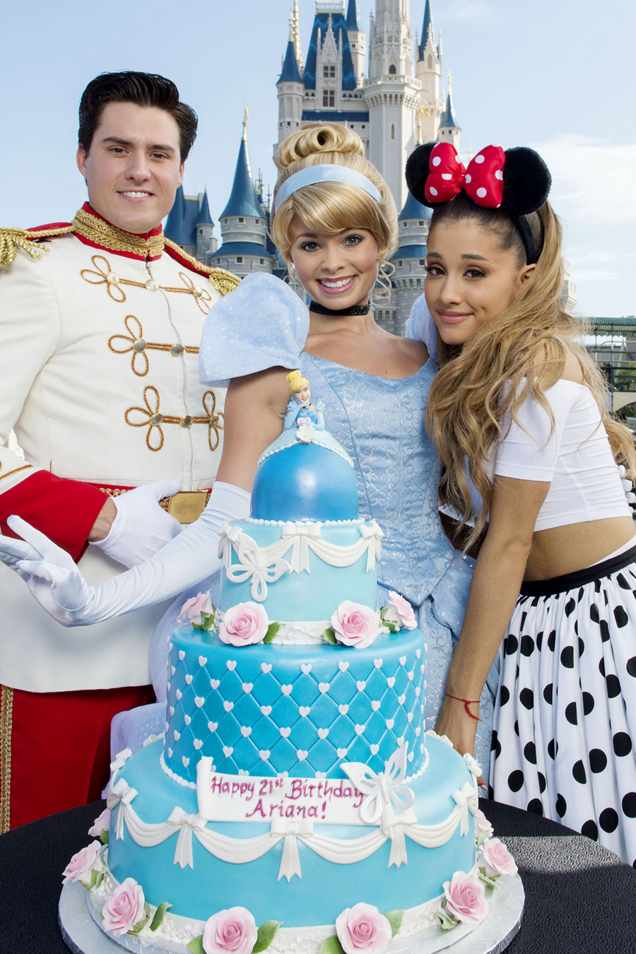 A 21st Birthday Celebration for Singing Superstar Ariana Grande at