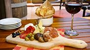 Charcuterie Plate at Alfresco Tasting Terrace at Disney California Adventure Park