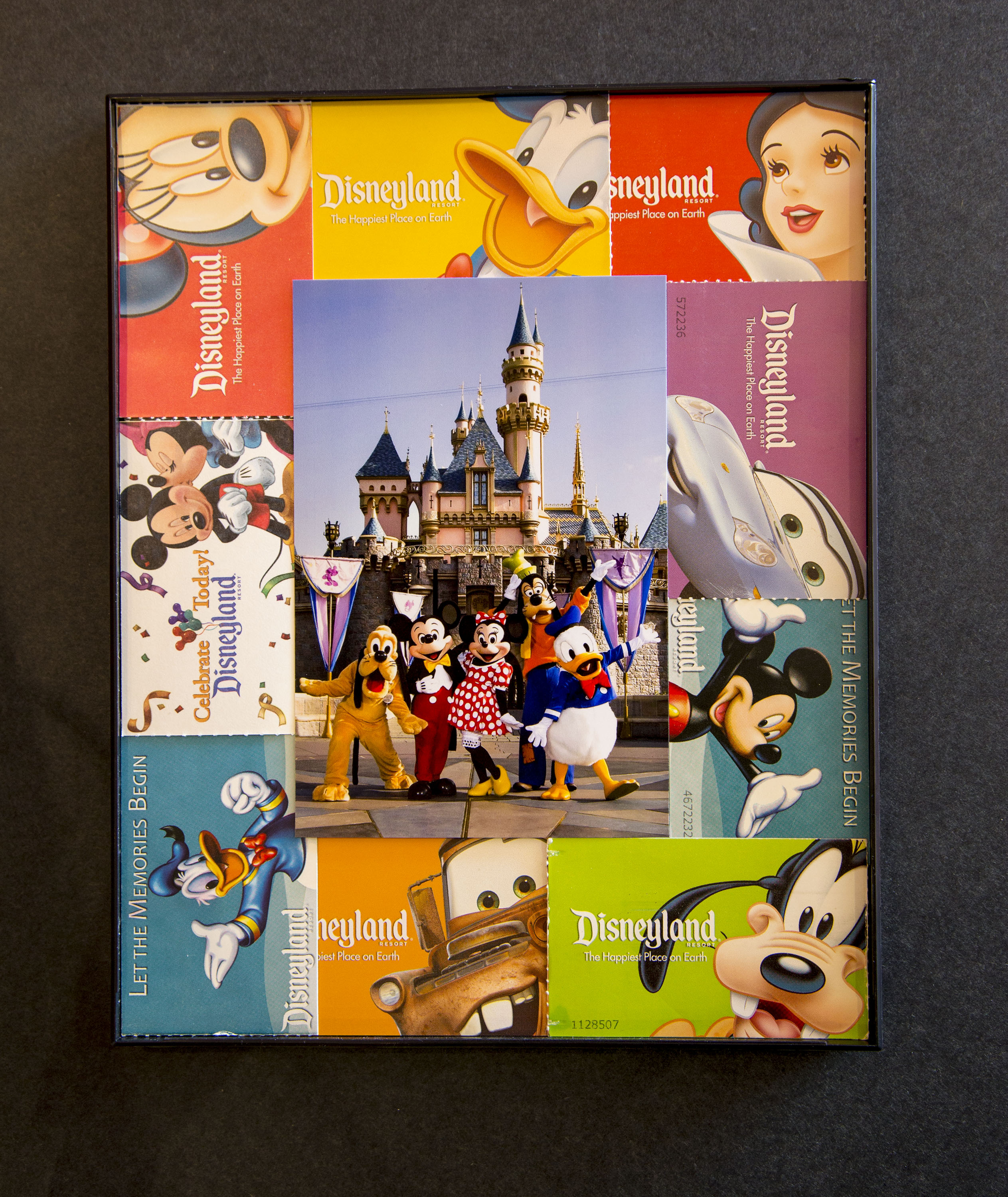 show your diy disney side disney parks guide map photo mat - Disney Picture Frames