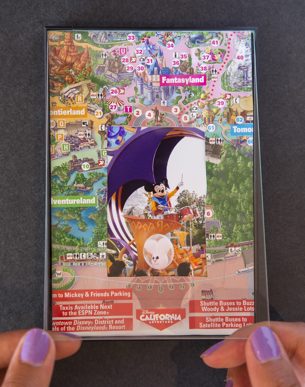 Show Your DIY Disney Side: Disney Parks Guide Map Photo Mat   Disney ...